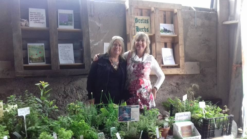 Caroline and I at Ballymaloe