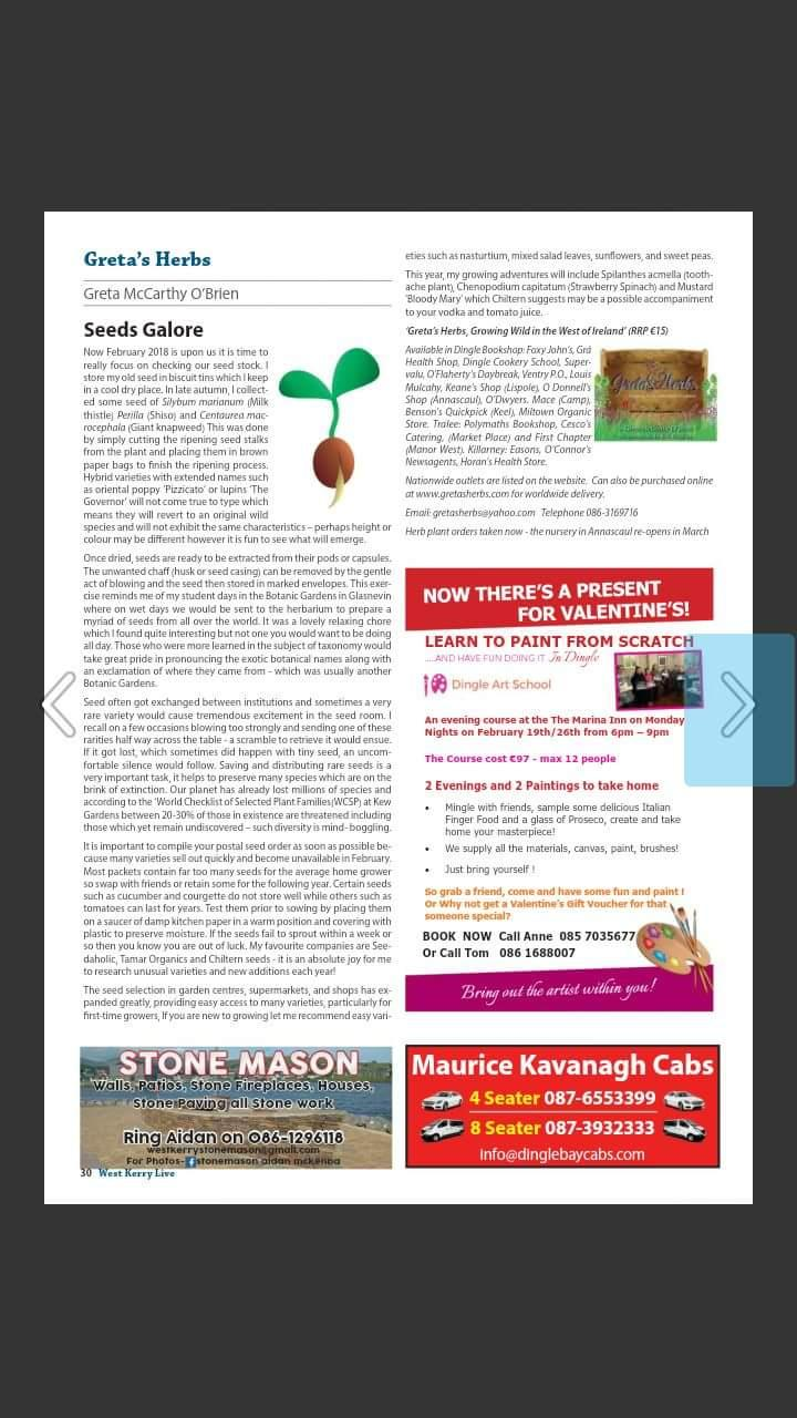 west kerry article