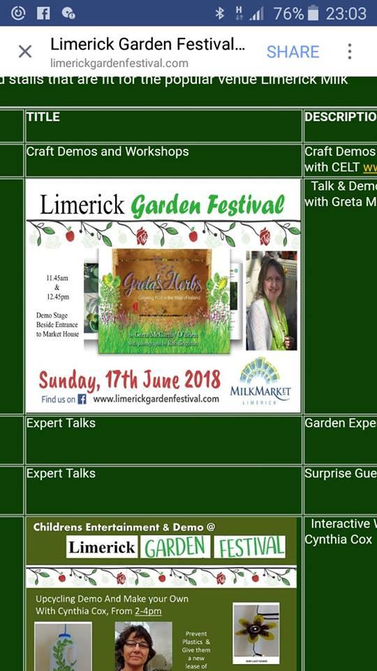 limerick garden fest